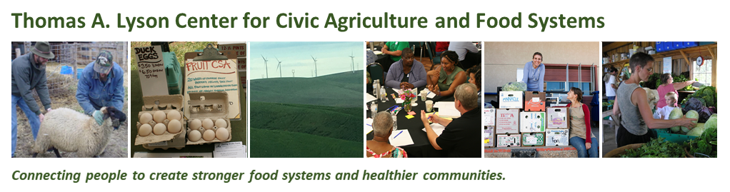 Thomas A. Lyson Center for Civic Agriculture and Food Systems